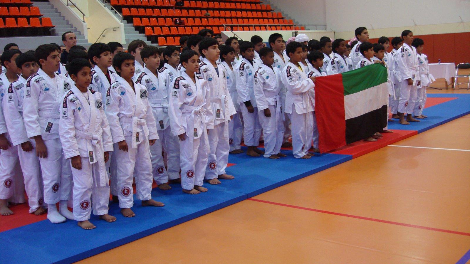 ABU DHABI ZONE JIU JITSU CUP:   FIRST BJJ & NEWS